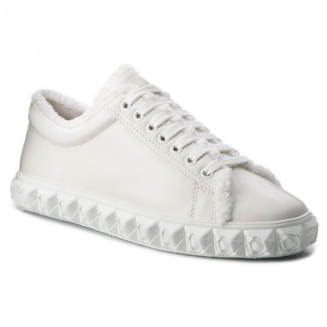 Sneakers STUART WEITZMAN - Fringiecoverstory XL17416 Off White Nubo