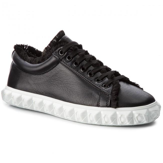 Sneakers STUART WEITZMAN - Fringiecoverstory XL17418 Nero Nubo
