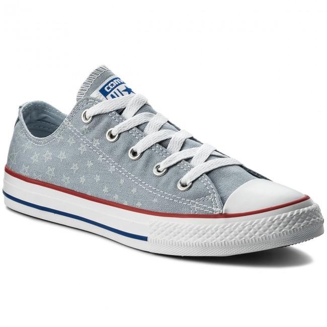 Sneakers Converse Ctas Ox 656093c Blue Granite Porpoise