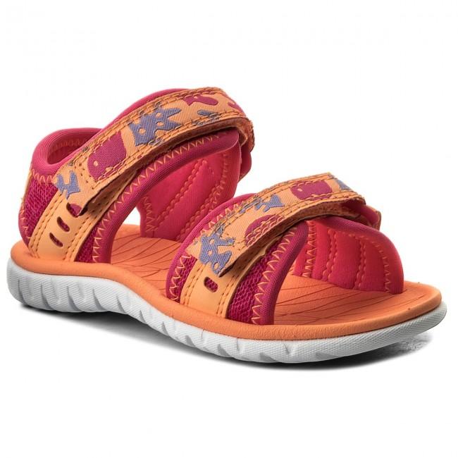 Sandals CLARKS - Surfing Moon 261313446 Berry Combi