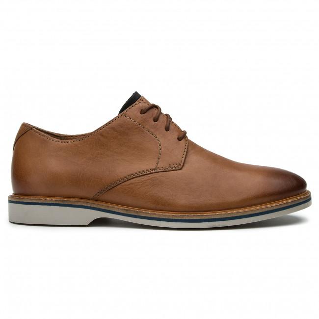Shoes CLARKS Atticus Lace 261318247 Tan Leather