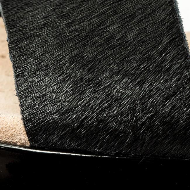 Sandalen CLARKS Botanic Ivy 261413504 Black Nubuck
