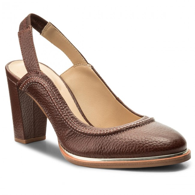 Sandals CLARKS - Ellis Ivy 261320034 Tan Leather