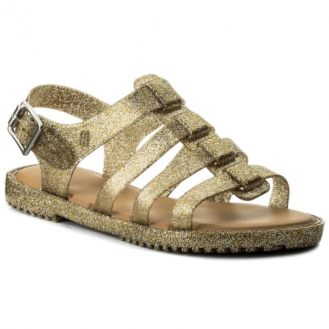 Sandals MELISSA - Flox Unissex Ad 31909 Glass Gold Glitter 03586