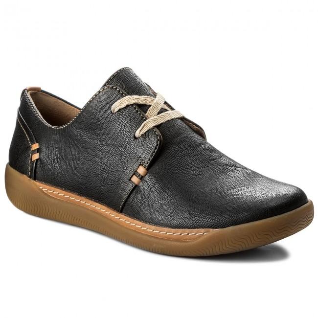 various styles sale online new products Shoes CLARKS - Un Haven Lace 261321814 Black Leather