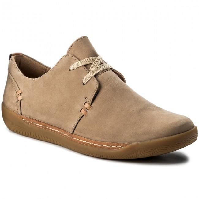 details for best choice great deals Shoes CLARKS - Un Haven Lace 261321864 Sand Nubuck