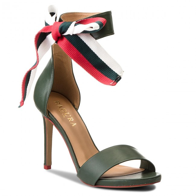 Sandals BADURA - 4646-69 Zieleń 1477