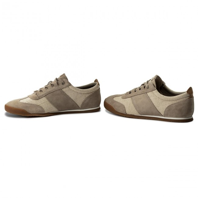 Sneakers CLARKS Siddal Mix 261322367 Sand Combi