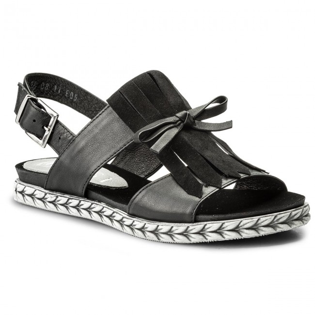 Sandals NESSI - 18370 Czarny 912