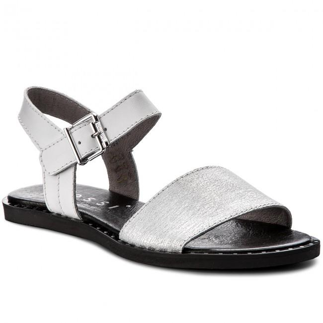 Sandals NESSI - 18371 Srebro