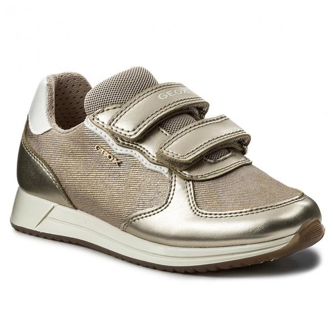 Sneakers GEOX - J Jensea G. C J826FC 0DYNF C5379 S Beige/Lt Gold