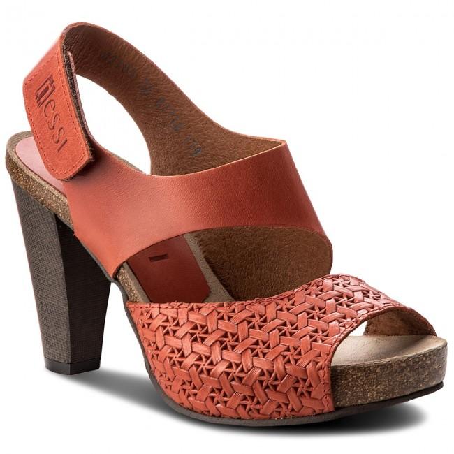 Sandals NESSI - 42103 Pomarańcz 11/Plecionka