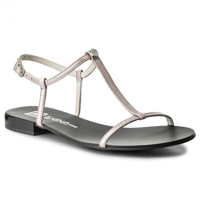 Sandals NESSI - 49004 Róż Gm