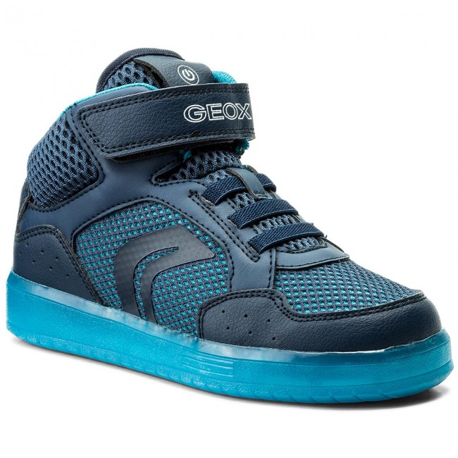Espectador Egipto cocodrilo  Sneakers GEOX - J Kommodor B.C J825PC 014BU C0693 S Navy/Blue - Boots -  High boots and others - Boy - Kids' shoes | efootwear.eu