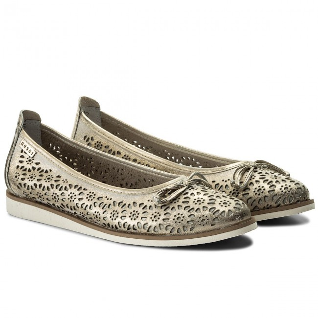 Shoes Nessi - 777/las Złoto 81 Flats Low Women's