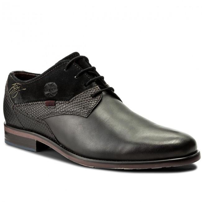 Półbuty BUGATTI - 311-16304-2514-1110 Dark Grey/Black