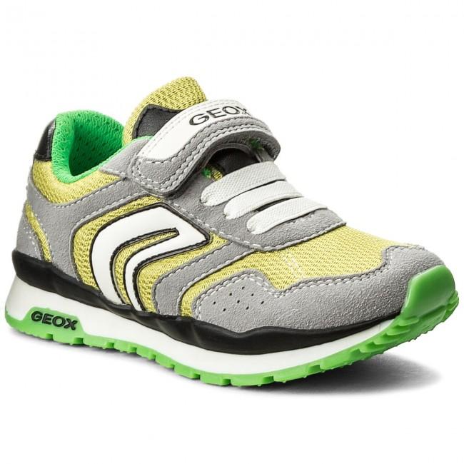 Sneakers GEOX - J Pavel B J7215B 014AF C0666 M  Grey/Lime
