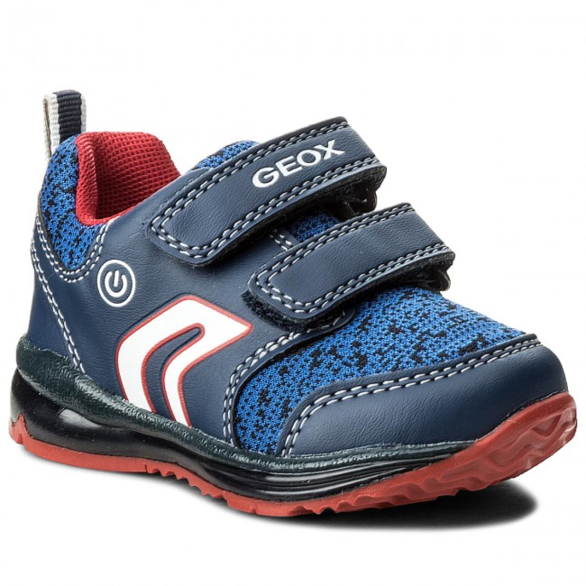 Shoes GEOX - B Todd B. C B8284C 011BC C0735 M Navy/Red