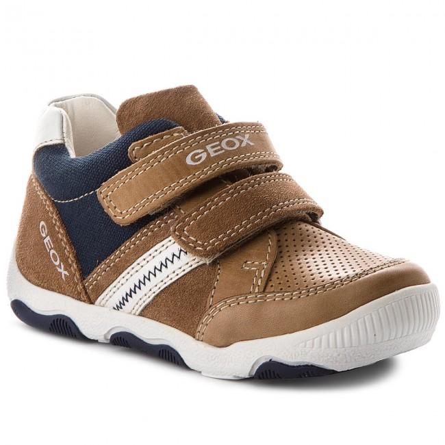 Boots GEOX - B New Balu' B. D B820PD 0CL10 C5G1Z Caramel/White
