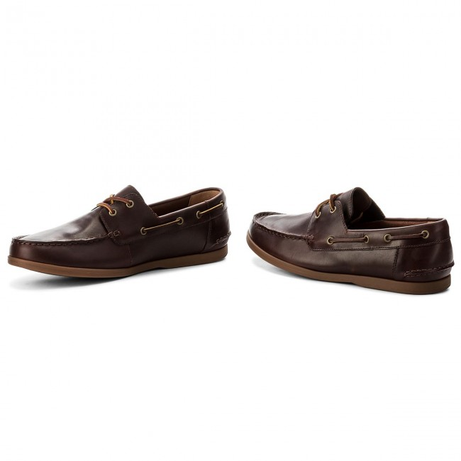 wide selection of colors discount coupon matching in colour Moccasins CLARKS - Morven Sail 261324807 British Tan Lether
