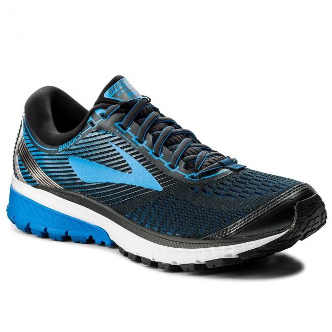Shoes BROOKS - Ghost 10 110257 1D 056 Ebony/Metallic Charcoal/Electric Brooks Blue
