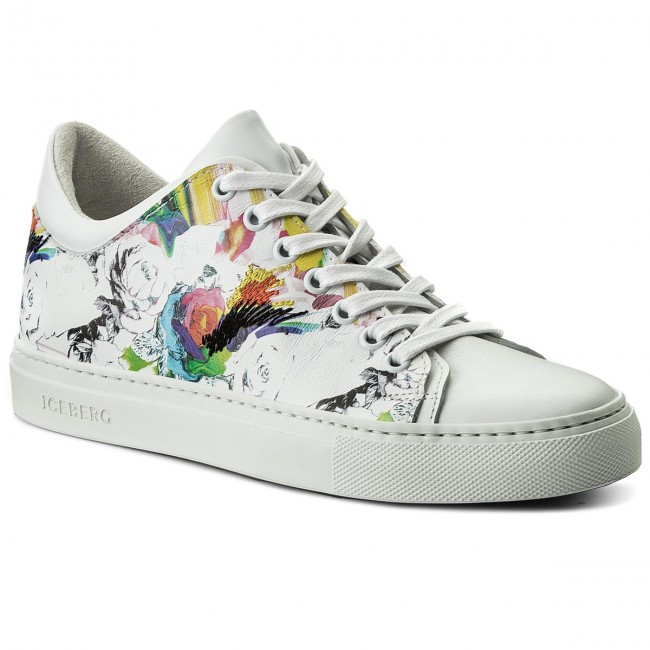 more photos 8784d 7cf8e Sneakers ICEBERG - Serena 18EID1201A Galaxy Bianco