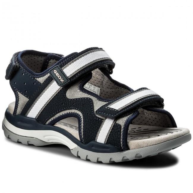 Sandals GEOX J Borealis B. B J820RB 01050 C0661 D NavyGrey