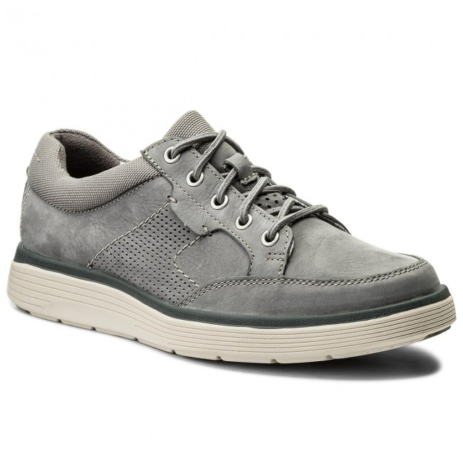 discount up to 60% classic style modern style Shoes CLARKS - Un Abode Lace 261326057 Grey Nubuck