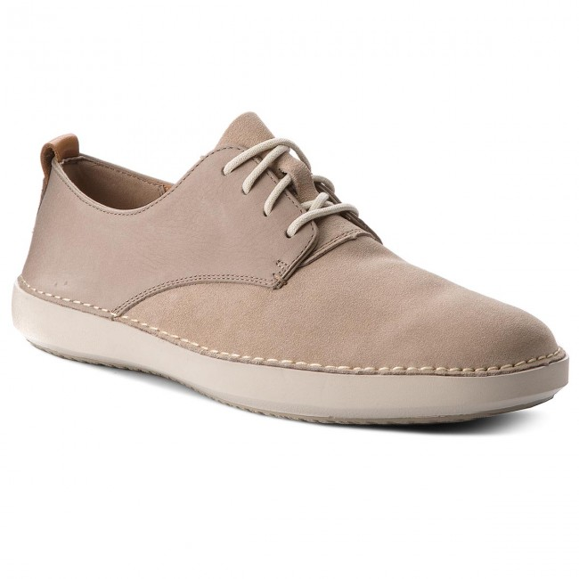 Shoes CLARKS Komuter Walk 261327097 Sand Combi