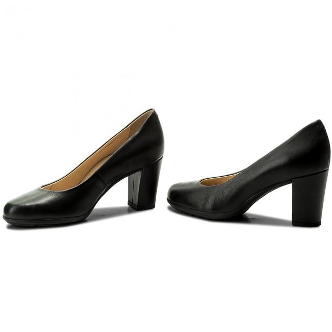 Shoes GEOX D Annya C D745FC 00085 C9999 Black