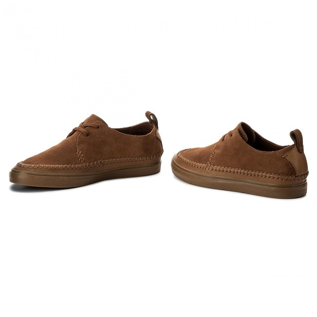 Shoes CLARKS Kessell Craft 261328687 Tan Suede