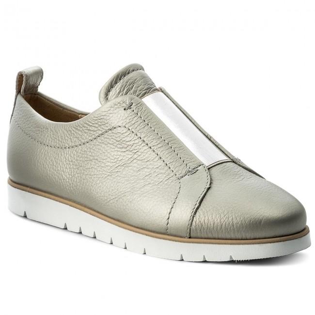 nacimiento Limpiar el piso Revelar  Shoes GEOX - D Kookean A D824PA 000AK C1007 Silver - Flats - Low shoes -  Women's shoes | efootwear.eu