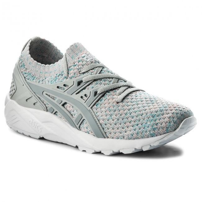 promo code d503b 18e74 Sneakers ASICS - TIGER Gel-Kayano Trainer Knit HN7M4 Glacier Grey/Mid Grey  9696