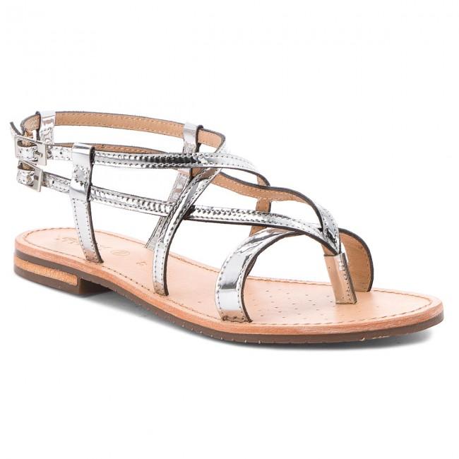 Sandals GEOX D Sozy C D822CC 000BN C1007 Silver VjFt9