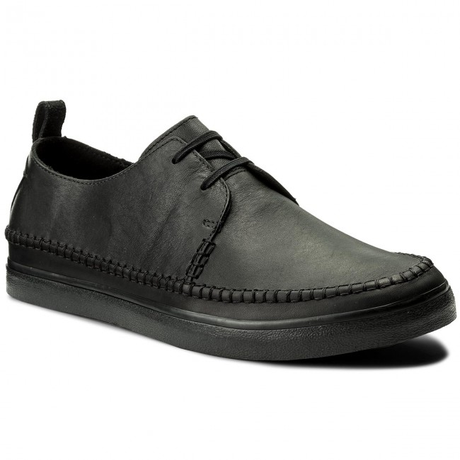 Shoes CLARKS Kessell Craft 261337497 Black Leather