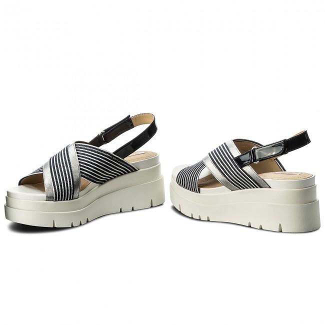 Sandals GEOX D Radwa A D827UA 0AWHH C4211 WhiteNavy