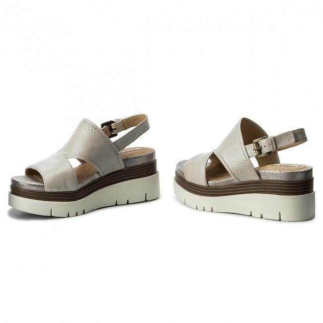 Sandals GEOX D Radwa B D827UB 00044 C1002 Off White