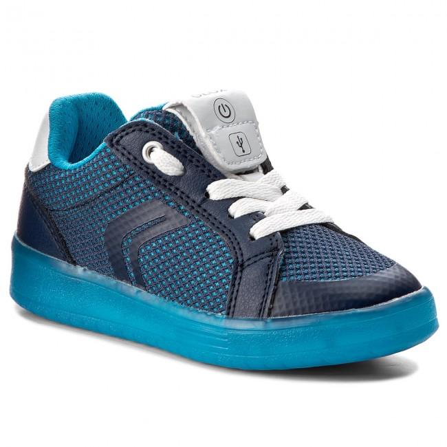 vocal Peaje pierna  Sneakers GEOX - J Kommodor B.A J825PA 014BU C0693 S Navy/Lt Blue - Laced  shoes - Low shoes - Boy - Kids' shoes | efootwear.eu