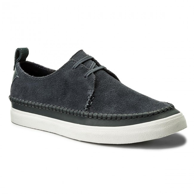 Shoes CLARKS Kessell Craft 261338427 Blue Suede