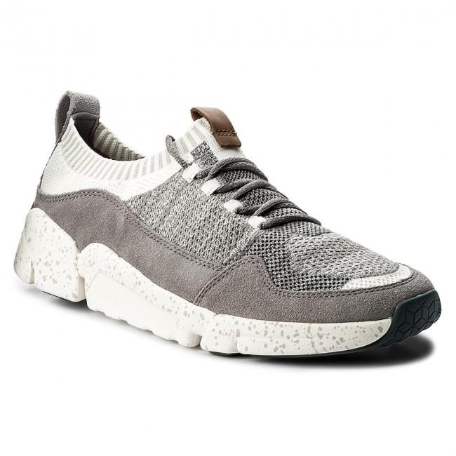 CLARKS Mens Triactive Knit Sneaker