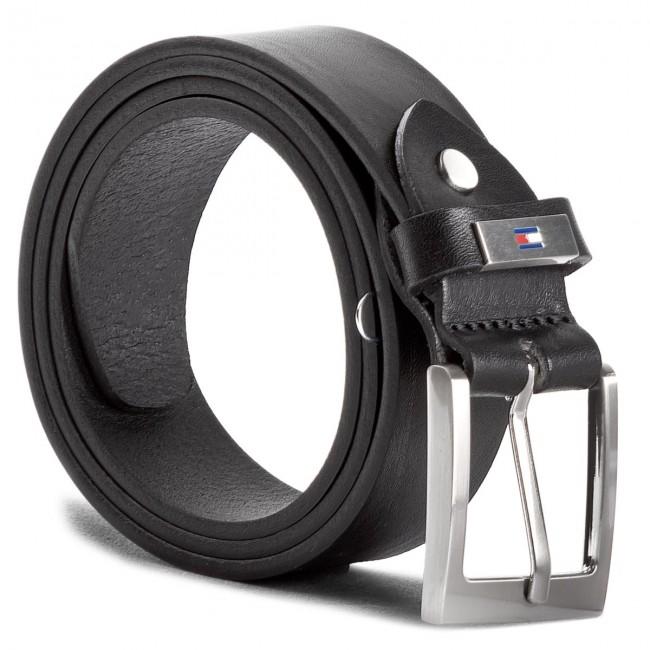 Men's Belt TOMMY HILFIGER - Metal Plate Loop Belt 3.5 Adj AM0AM03320 85 002