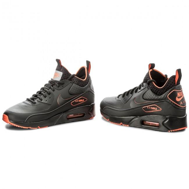 uk availability e2357 30c92 Shoes NIKE - Air Max 90 Ultra Mid Winter Se AA4423 001 Black/Black Total  Crimson