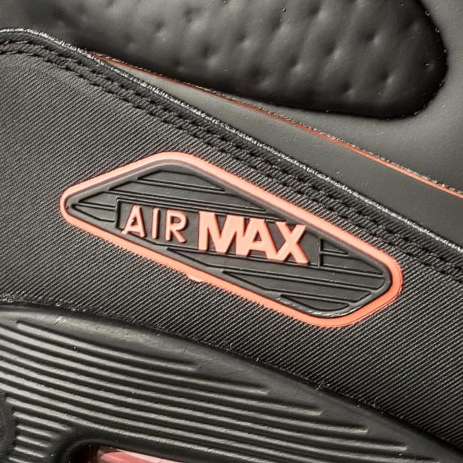 Shoes NIKE Air Max 90 Ultra Mid Winter Se AA4423 001 BlackBlack Total Crimson