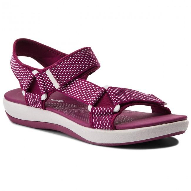 Sandals CLARKS - Brizo Cady 261340374 Deep Fuchsia