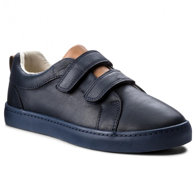 Sneakers CLARKS - City Oasis 261340657 Navy Leather