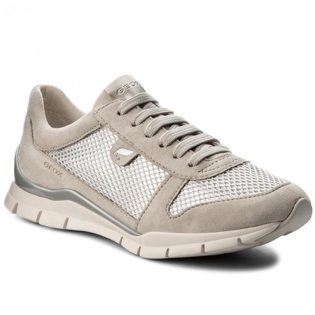 Sneakers GEOX D Sukie A D52F2A 021GN C1008 Ivory VQj3H