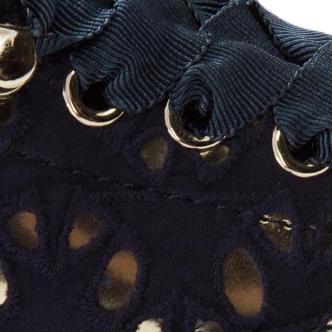 Plimsolls TOMMY HILFIGER Heritage Metallic Star Sneaker FW0FW02472 Tommy Navy 406