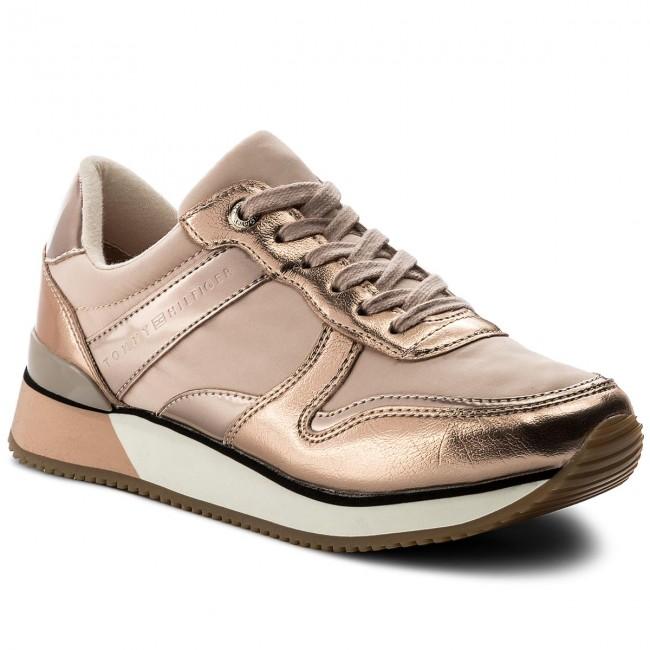 Sneakers TOMMY HILFIGER Metallic Sneaker FW0FW02683 Dusty