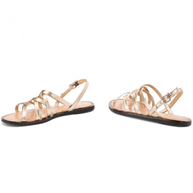 Sandals TOMMY HILFIGER Metallic Strappy Flat Sandal FW0FW02776 Rwb 020