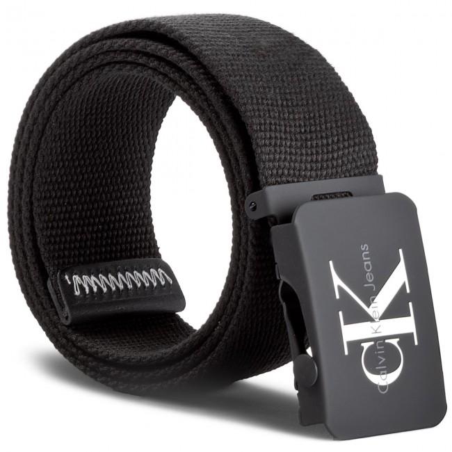 Men's Belt CALVIN KLEIN JEANS - J Re-Issue Canvas Pl K50K503673 85 001